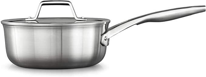 Calphalon Premier Stainless Steel 2.5-Qt Sauce Pan