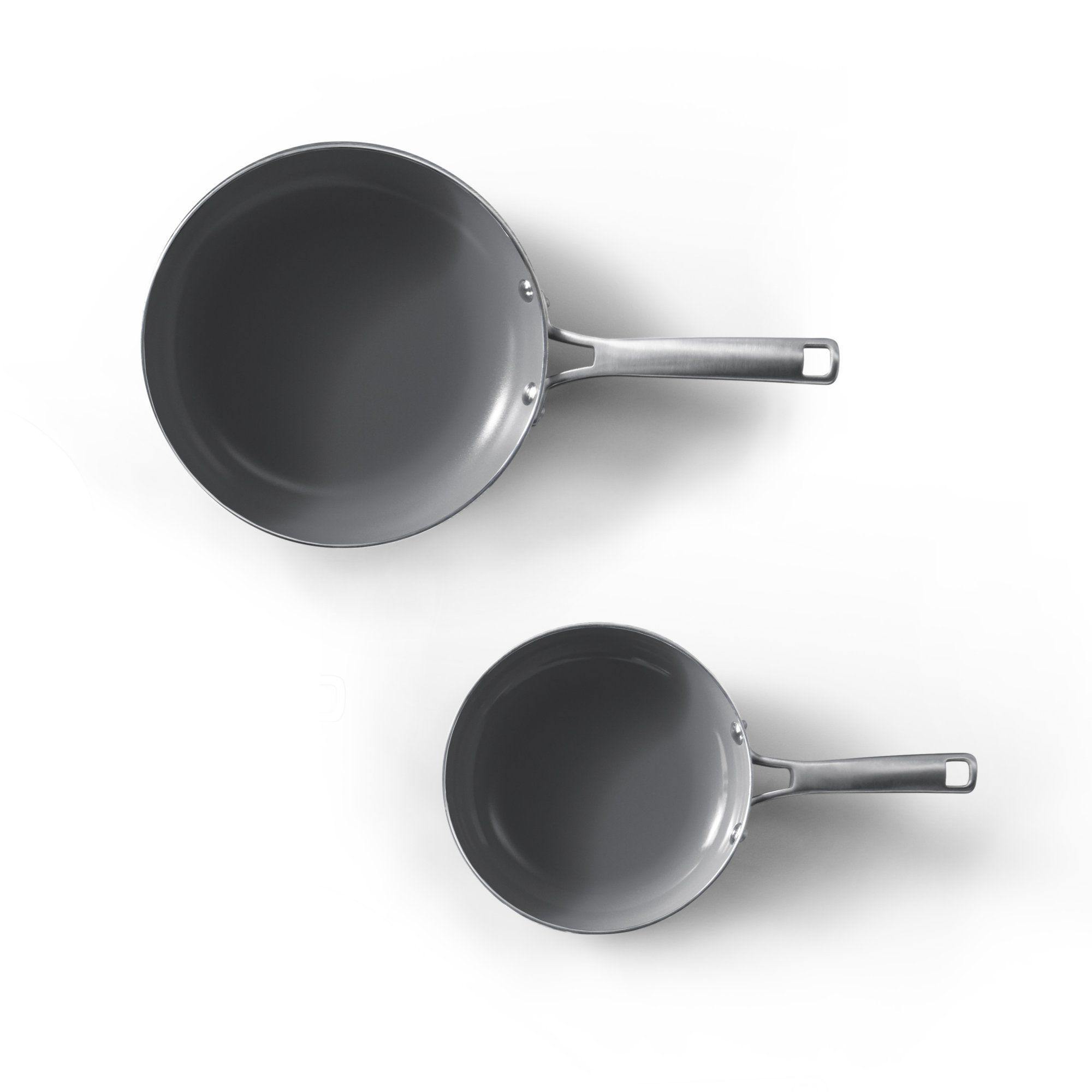 Calphalon Classic Oil Infused Ceramic 2- Piece Fry Pan Set
