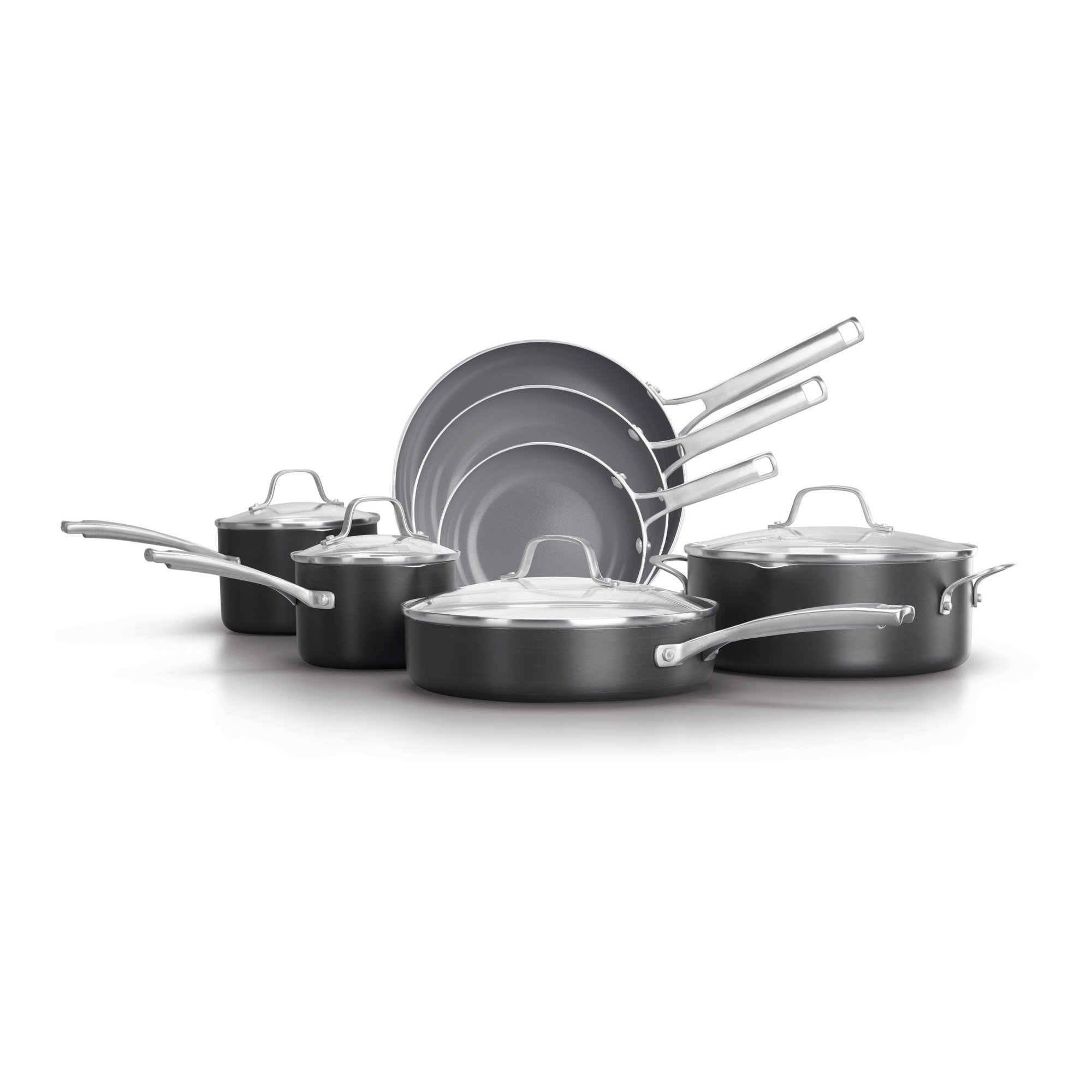 Calphalon Classic Oil Infused Ceramic 11- Piece Cookware Set