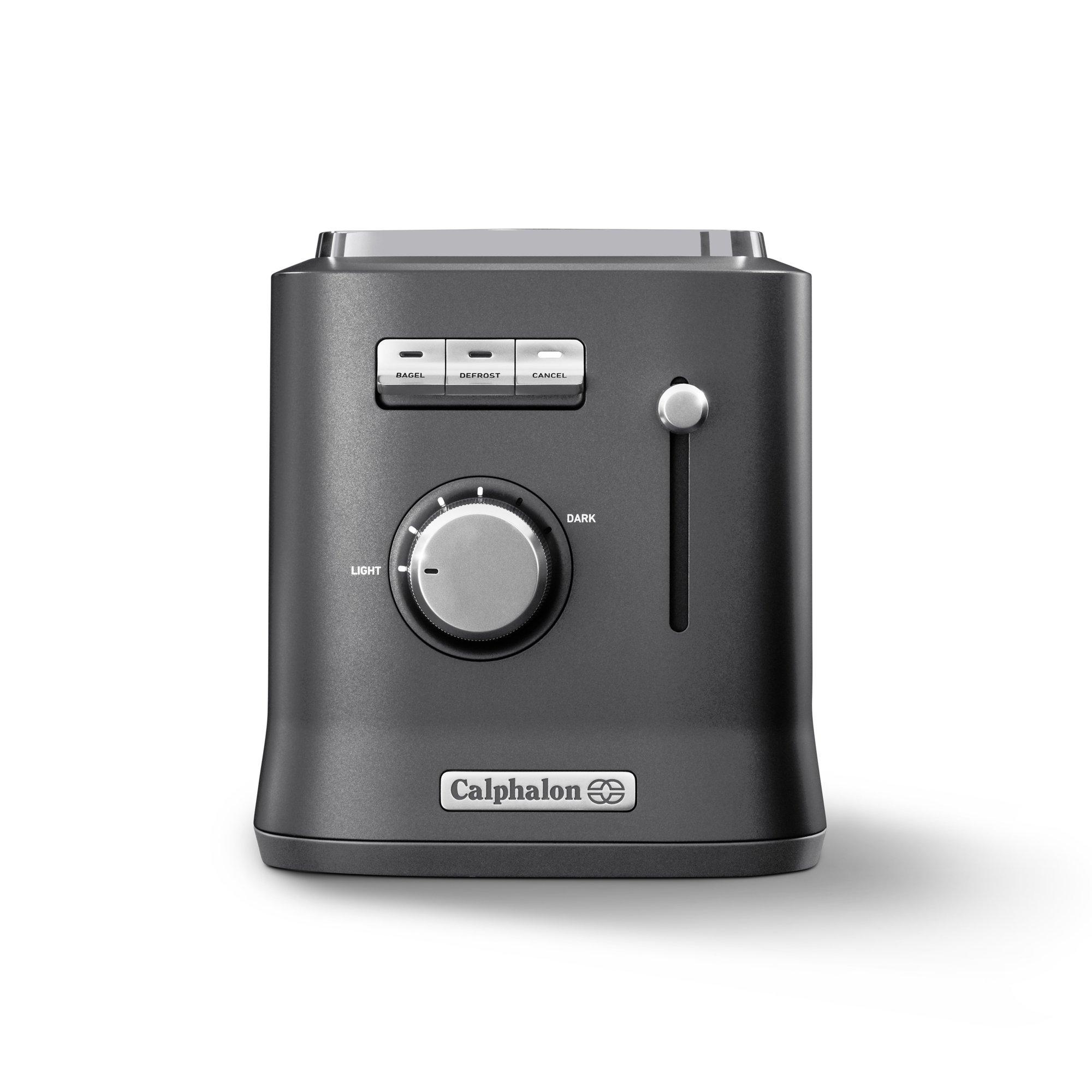 Calphalon IntelliCrisp 2 Slice Toaster, Grey