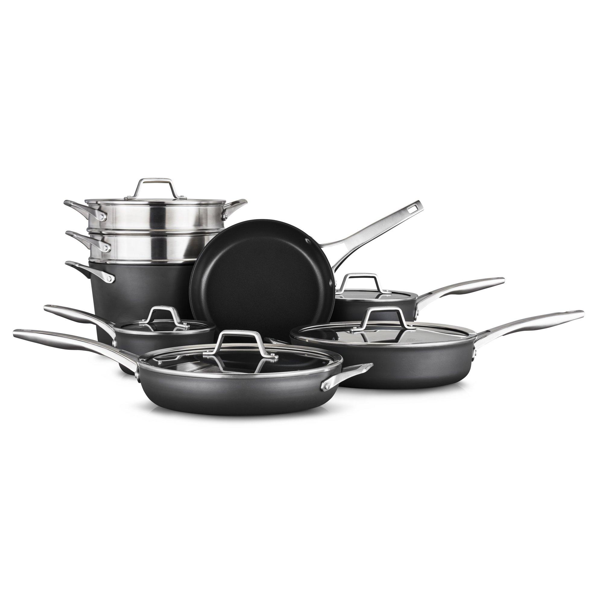 Calphalon? Premier?  Hard-Anodized Nonstick Cookware Set, 13-Piece Set
