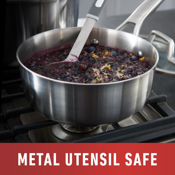 Metal Utensil Safe