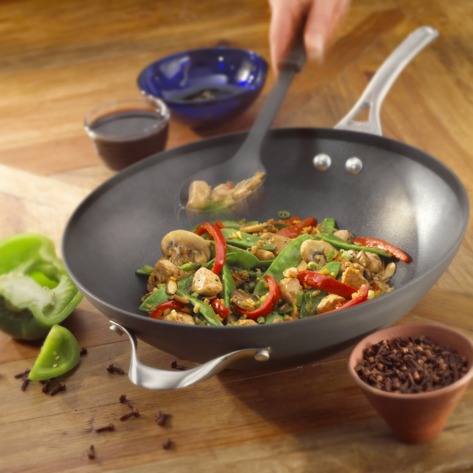 woks u0026 stir fry prepare delicious meals with these fastheating pans designed to work on most stovetops - Stir Fry Pan