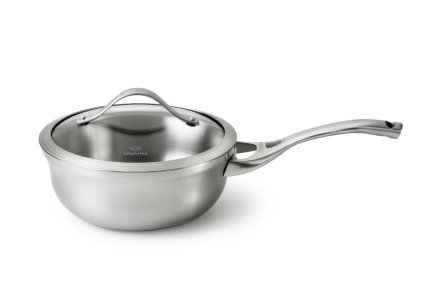 Calphalon Contemporary Stainless  2-qt. Chef's Pan with Cover