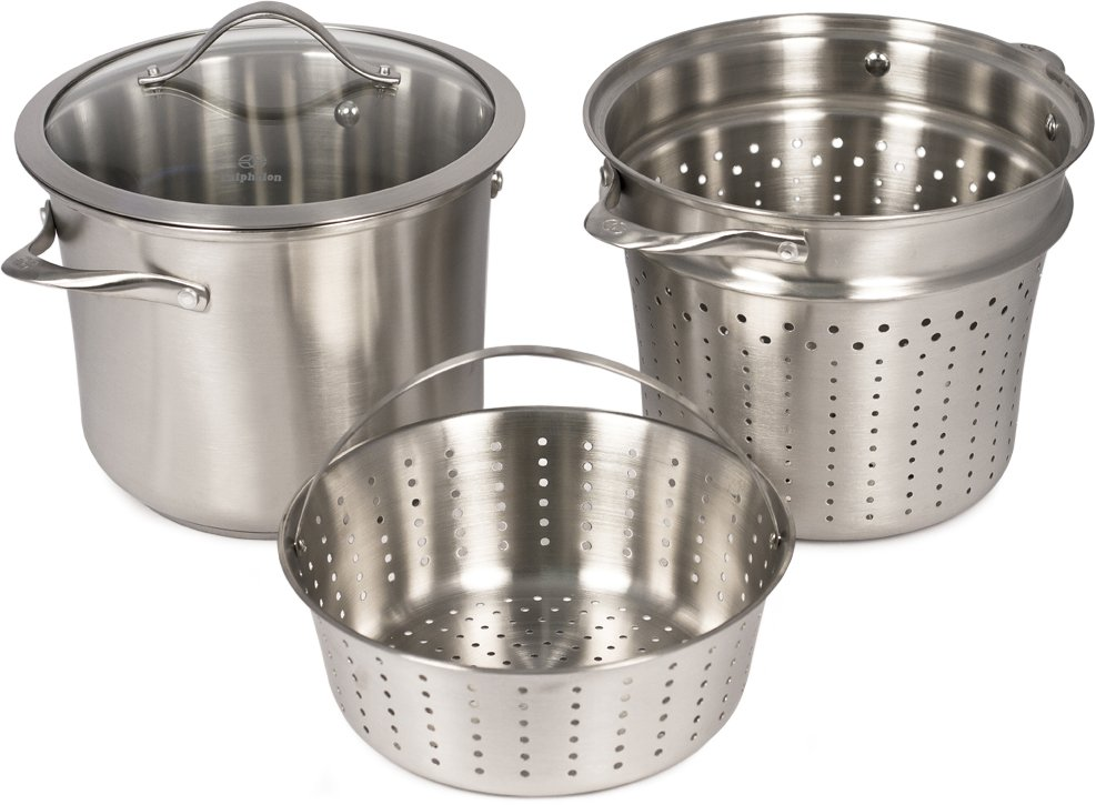 Calphalon Contemporary Stainless 8-qt. Multi Pot