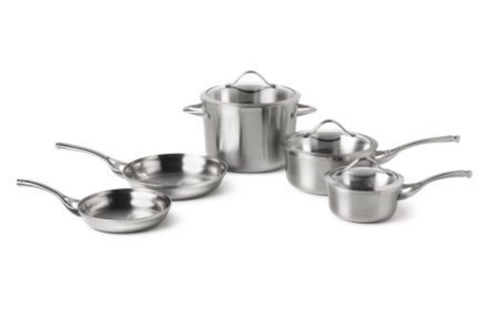 Calphalon Contemporary Stainless 8-pc. Cookware Set