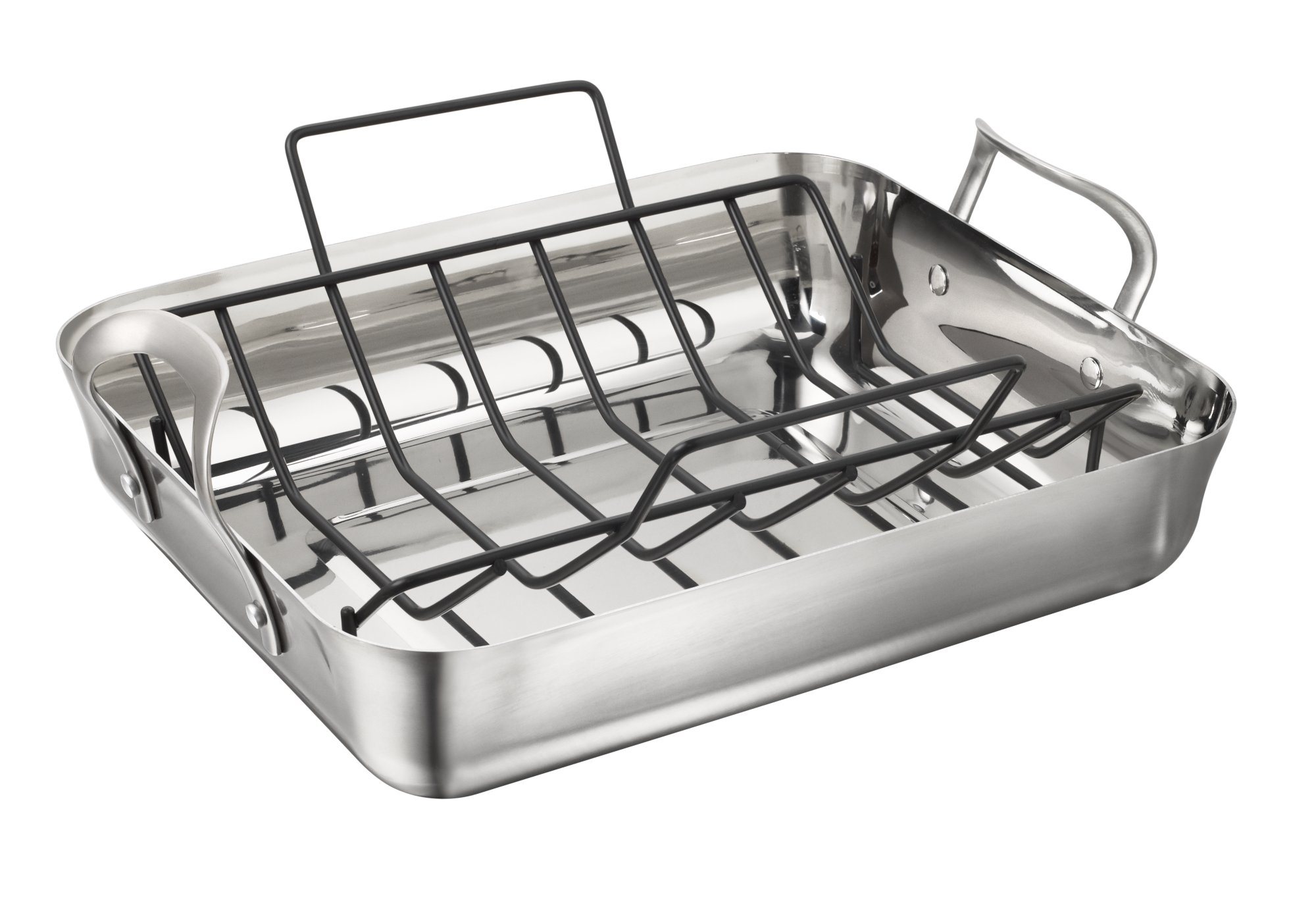 Calphalon Contemporary Stainless Roaster with Rack