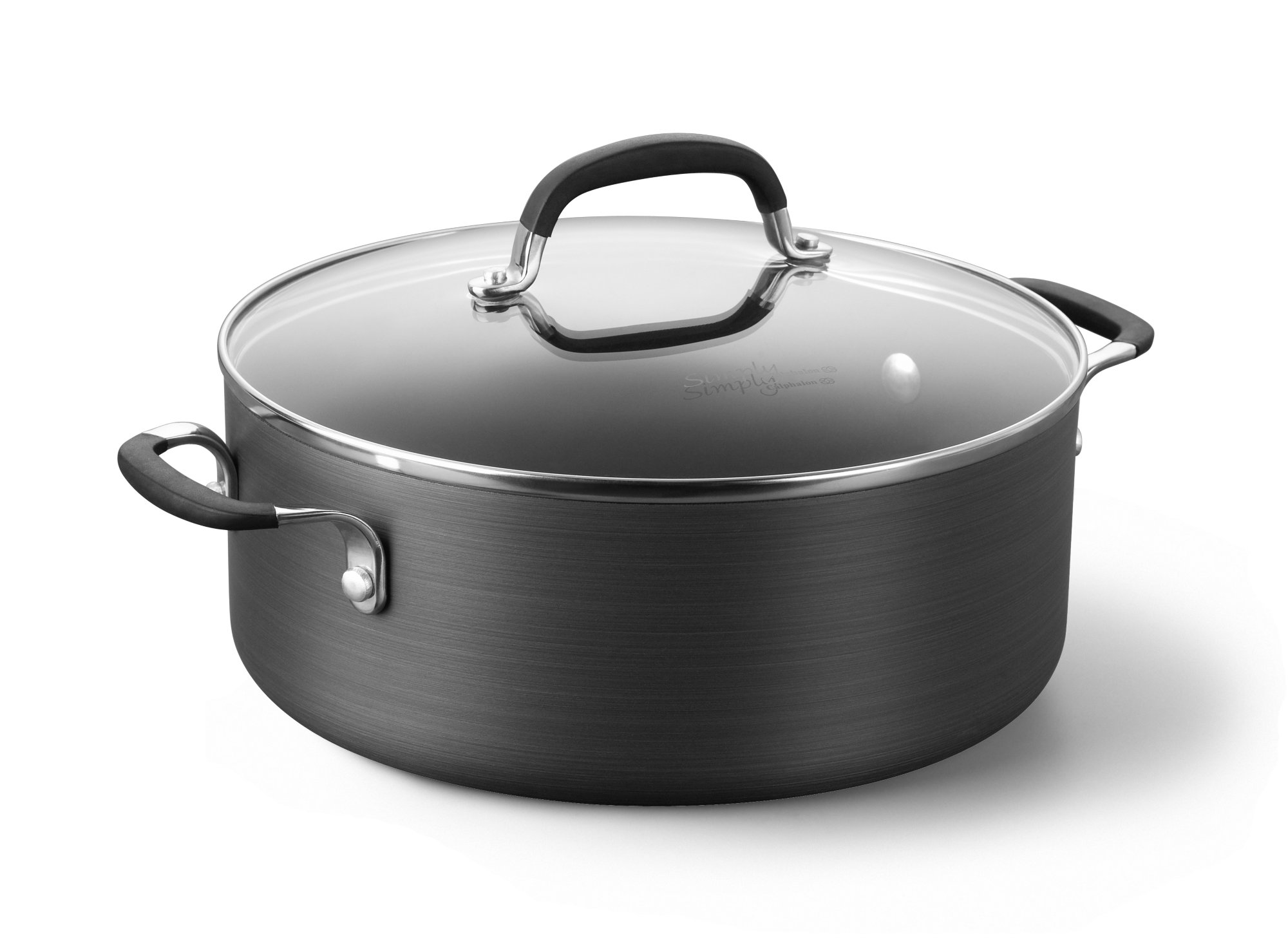 Simply Calphalon Nonstick 5-qt. Chili Pot with Cover