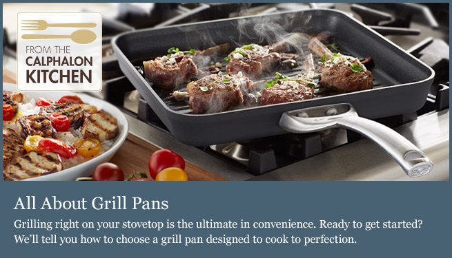 All About Grill Pans
