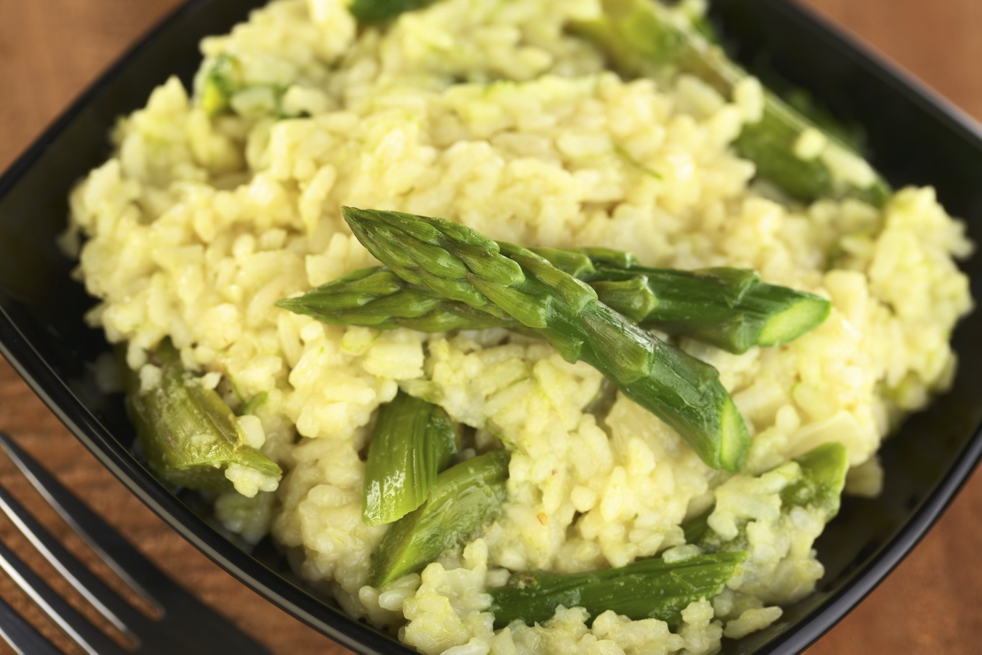 Risotto with Aparagus and Mascarpone Cheese