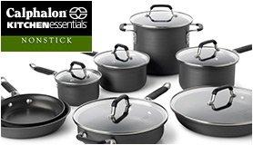Kitchen Essentials calphalon kitchen essentials hard-anodize nonstick