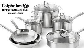 calphalon kitchen essentials stainless steel rh calphalon com kitchen essentials calphalon 1612 kitchen essentials by calphalon reviews