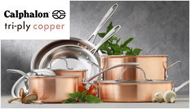 calphalon triply copper - Calphalon Tri Ply Stainless Steel