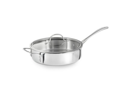 Calphalon Tri-Ply Stainless Steel 3-qt. Saute Pan with Cover