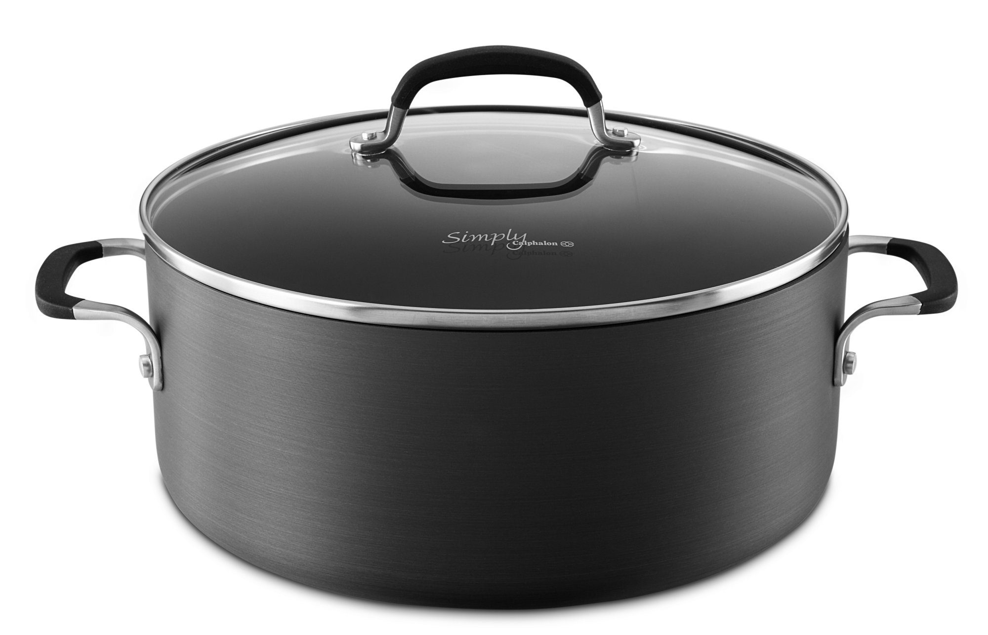 Simply Calphalon Nonstick 7-qt. Dutch Oven with Cover