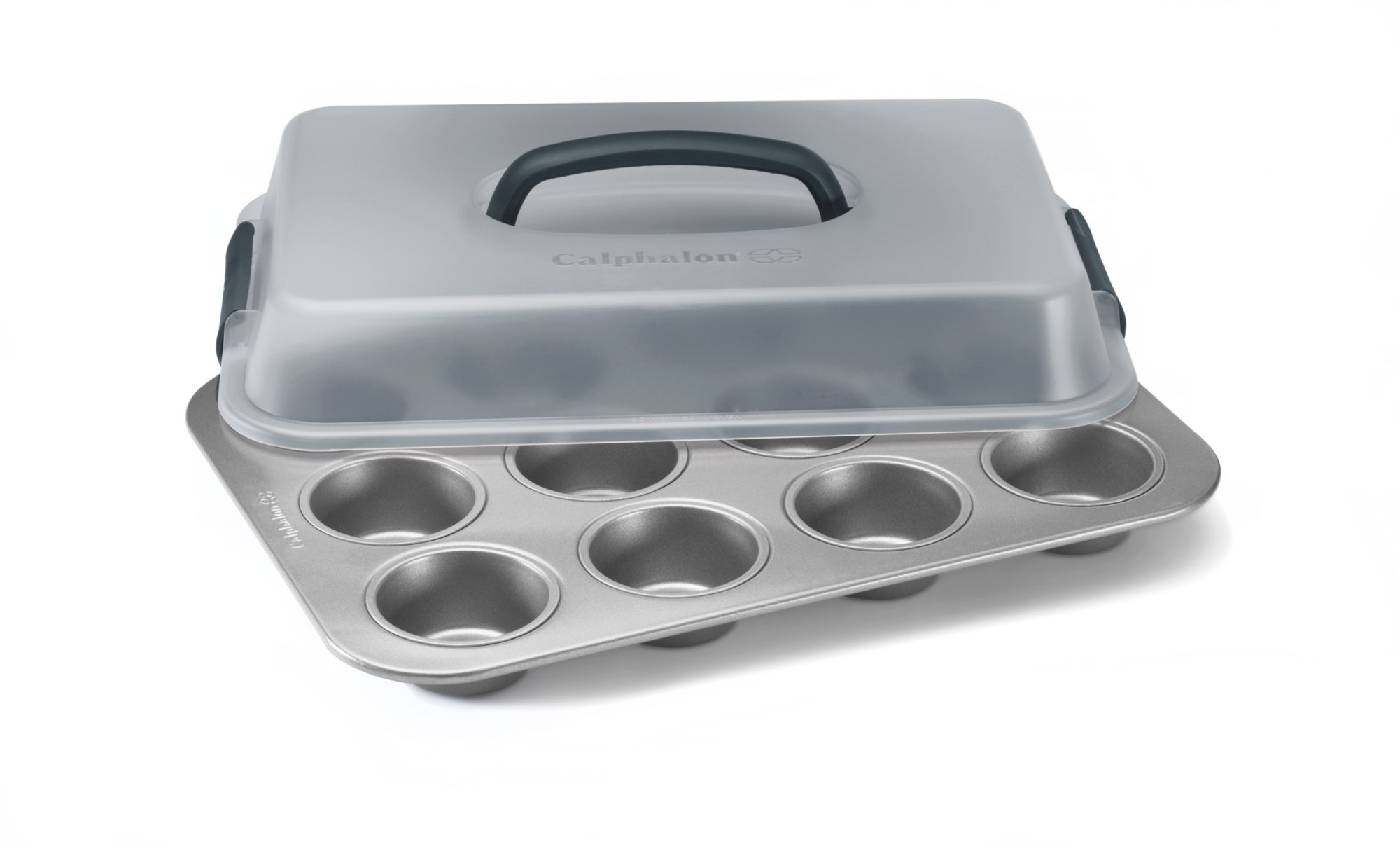 Calphalon Nonstick Bakeware 12 Cup Covered Cupcake Pan