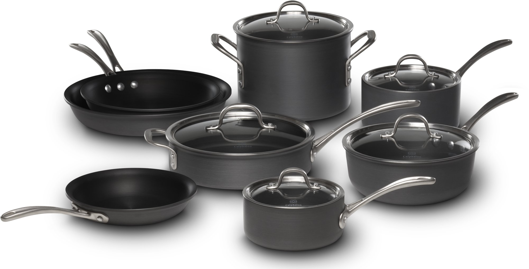 Calphalon Commercial Nonstick 13-pc. Cookware Set