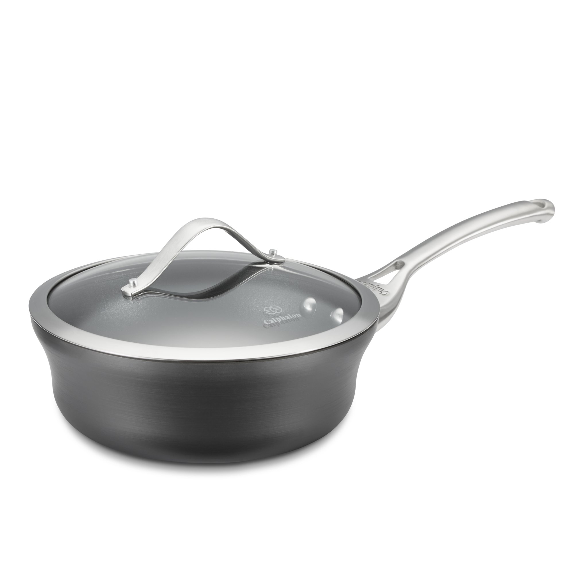 Calphalon Contemporary Nonstick 2.5-qt. Shallow Sauce Pan with Cover