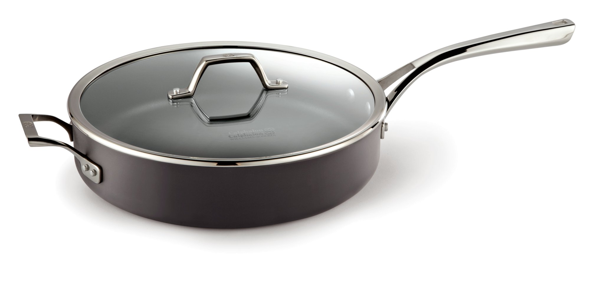 Calphalon Williams-Sonoma Elite Nonstick 6-qt. Saute Pan with Cover