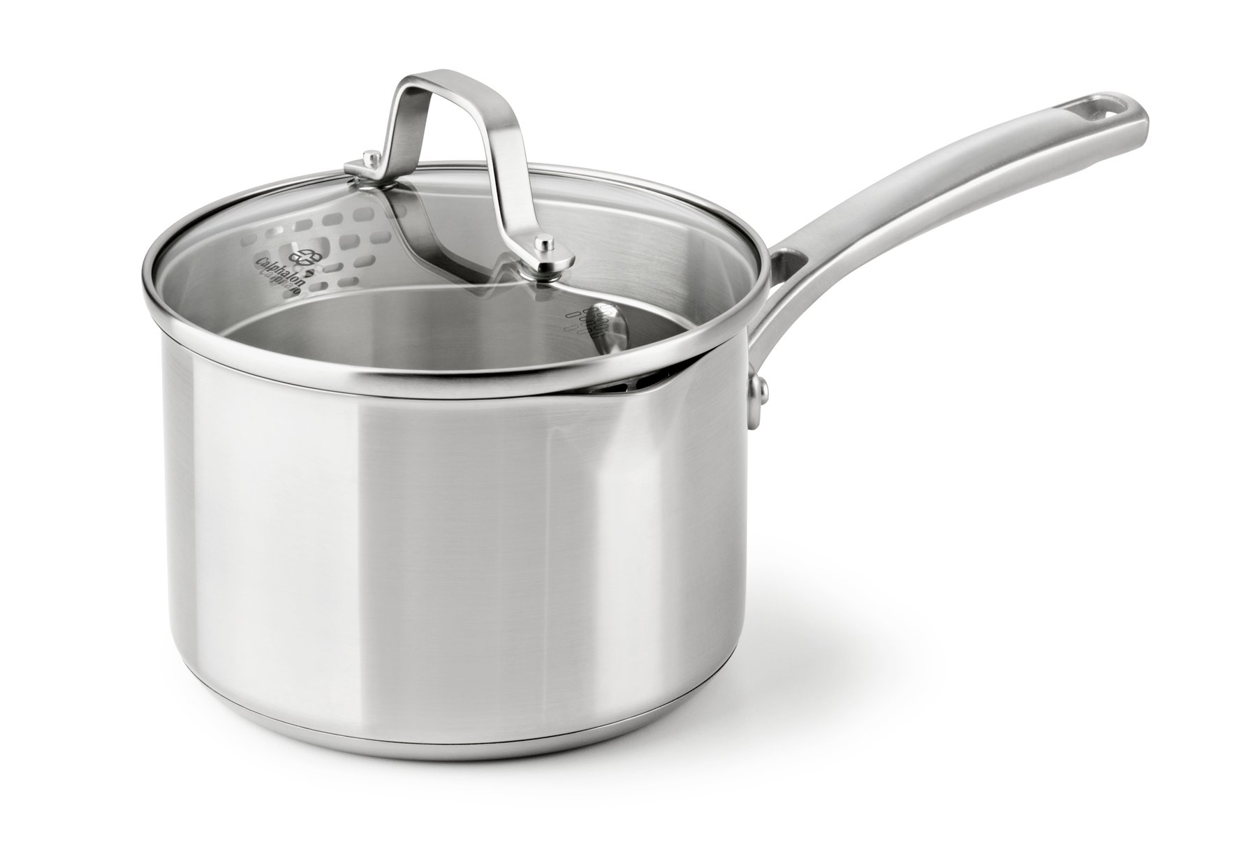 Calphalon Classic Stainless Steel 2.5-qt. Sauce Pan with Cover