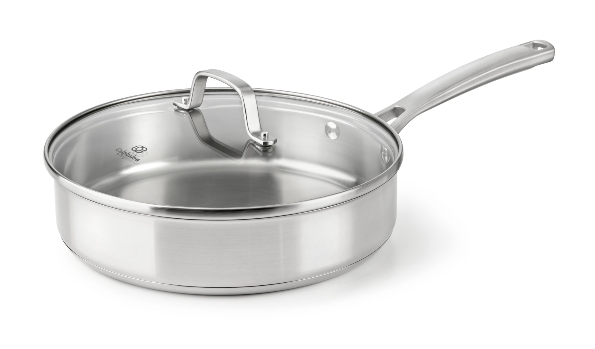 Calphalon Classic Stainless Steel 3-qt. Saute Pan with Cover