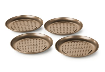 Simply Calphalon Nonstick Bakeware Personal Pizza Pan Set