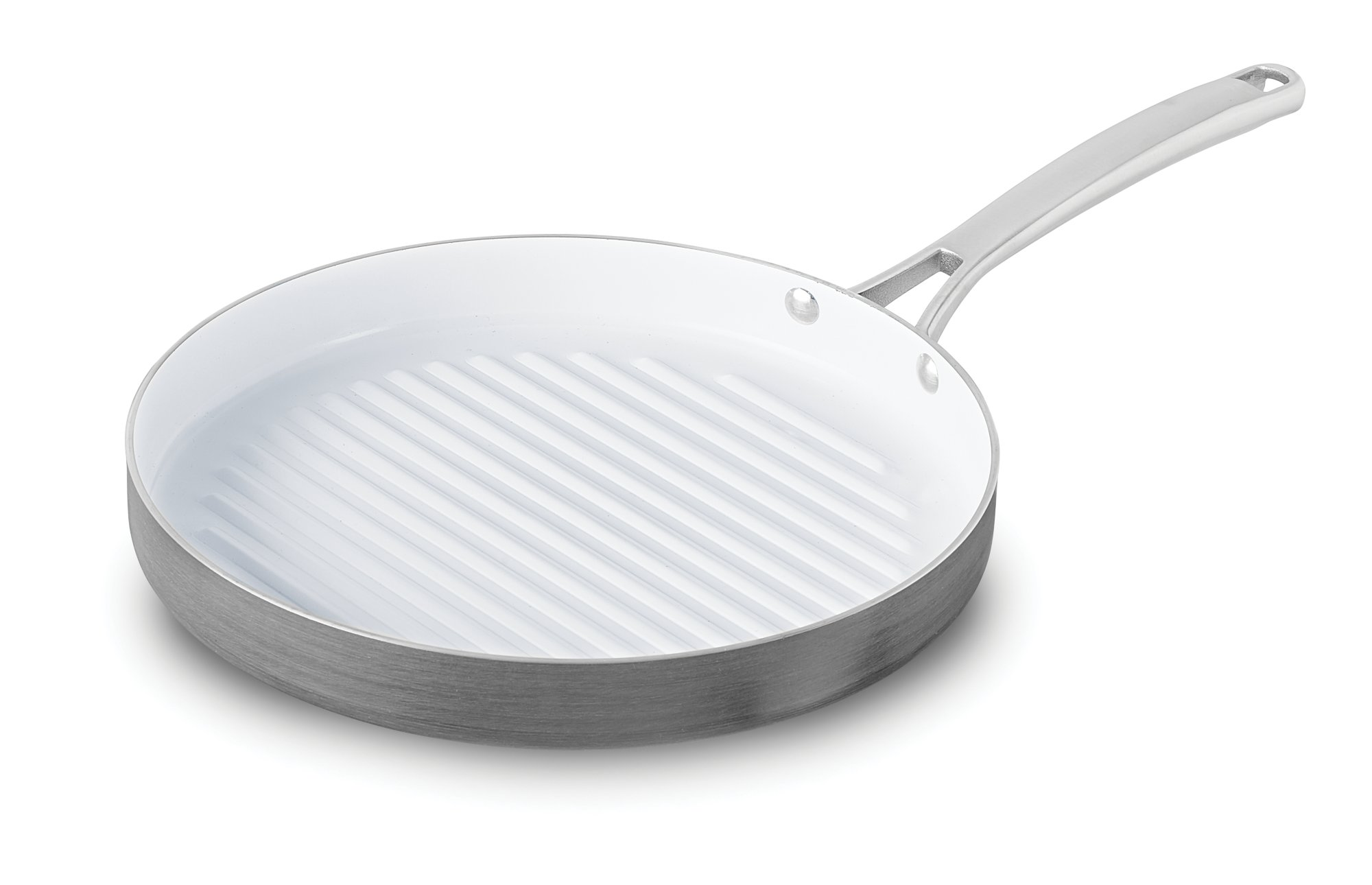 Calphalon Classic™ Ceramic Nonstick 12-in. Round Grill Pan