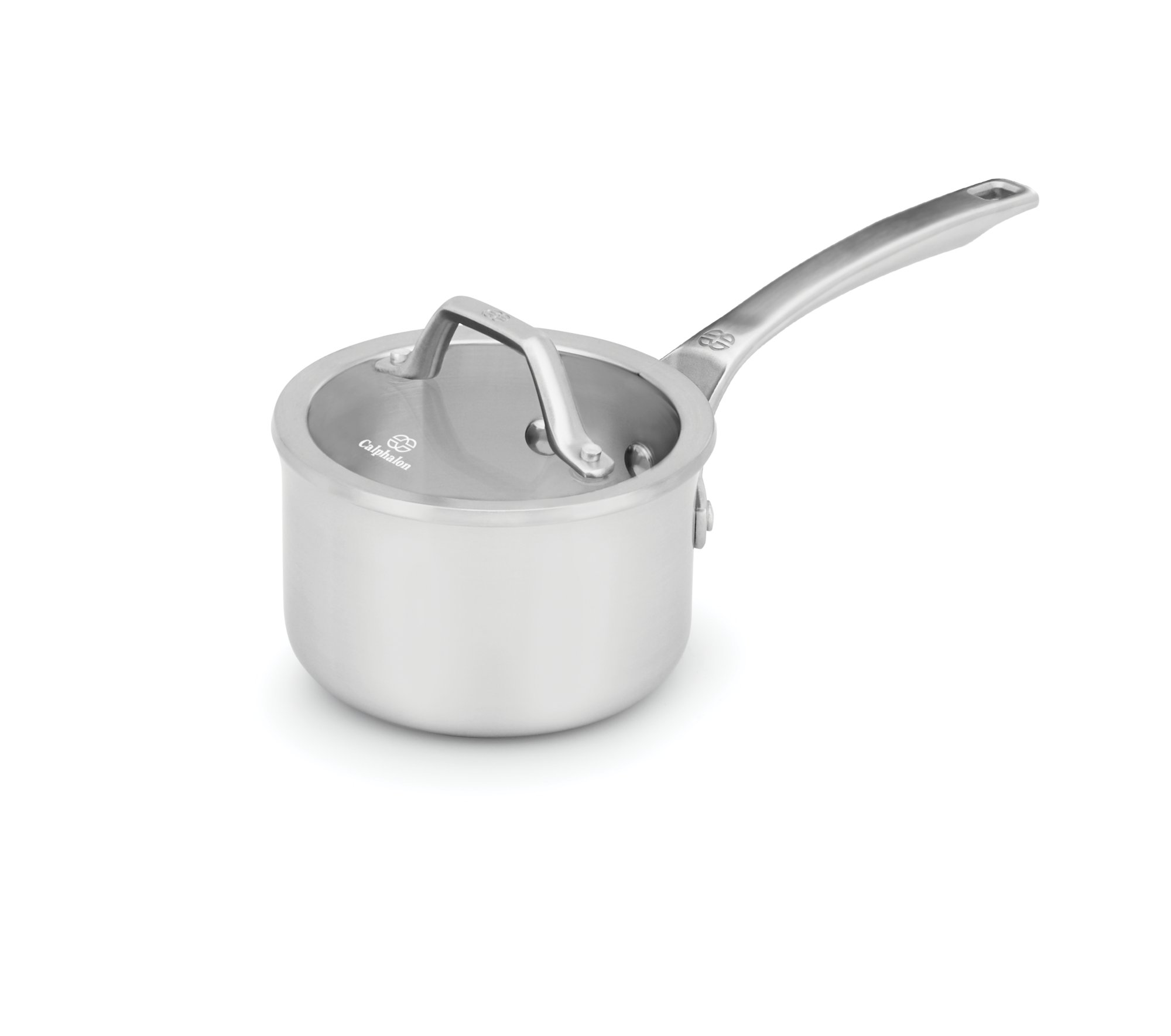 Calphalon Signature™ Stainless Steel 1-qt. Sauce Pan with Cover