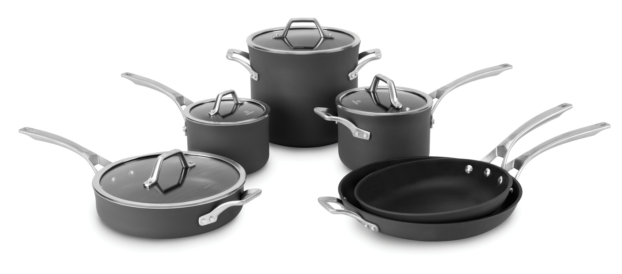 Calphalon Signature™ Nonstick 10-pc. Cookware Set