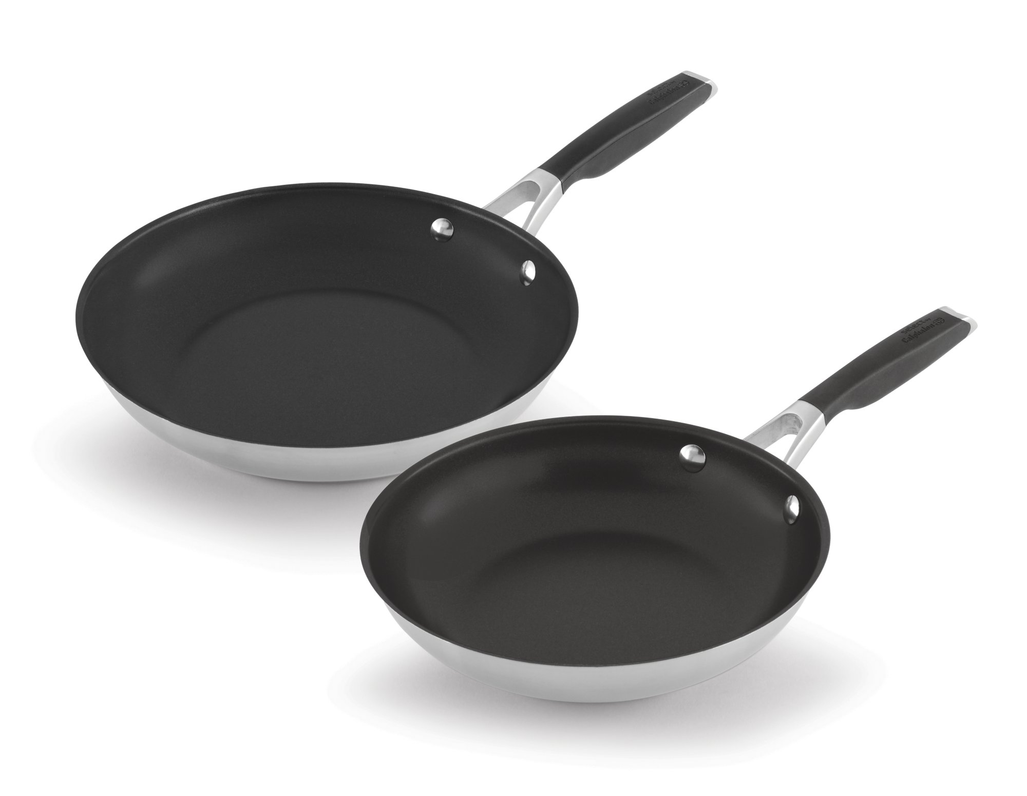 Select by Calphalon Stainless Steel Nonstick 8-Inch and 10-Inch Fry Pan Set