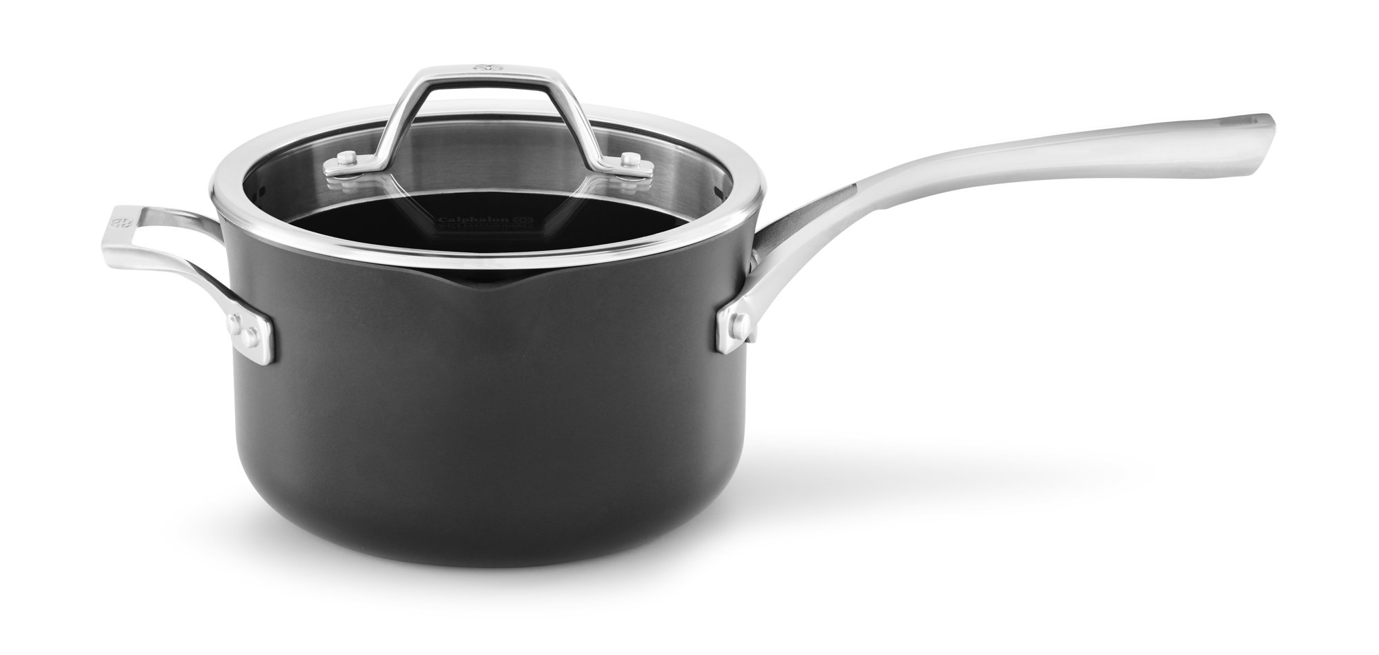 Calphalon Williams-Sonoma Elite Nonstick 4-Qt. Sauce Pan with Cover