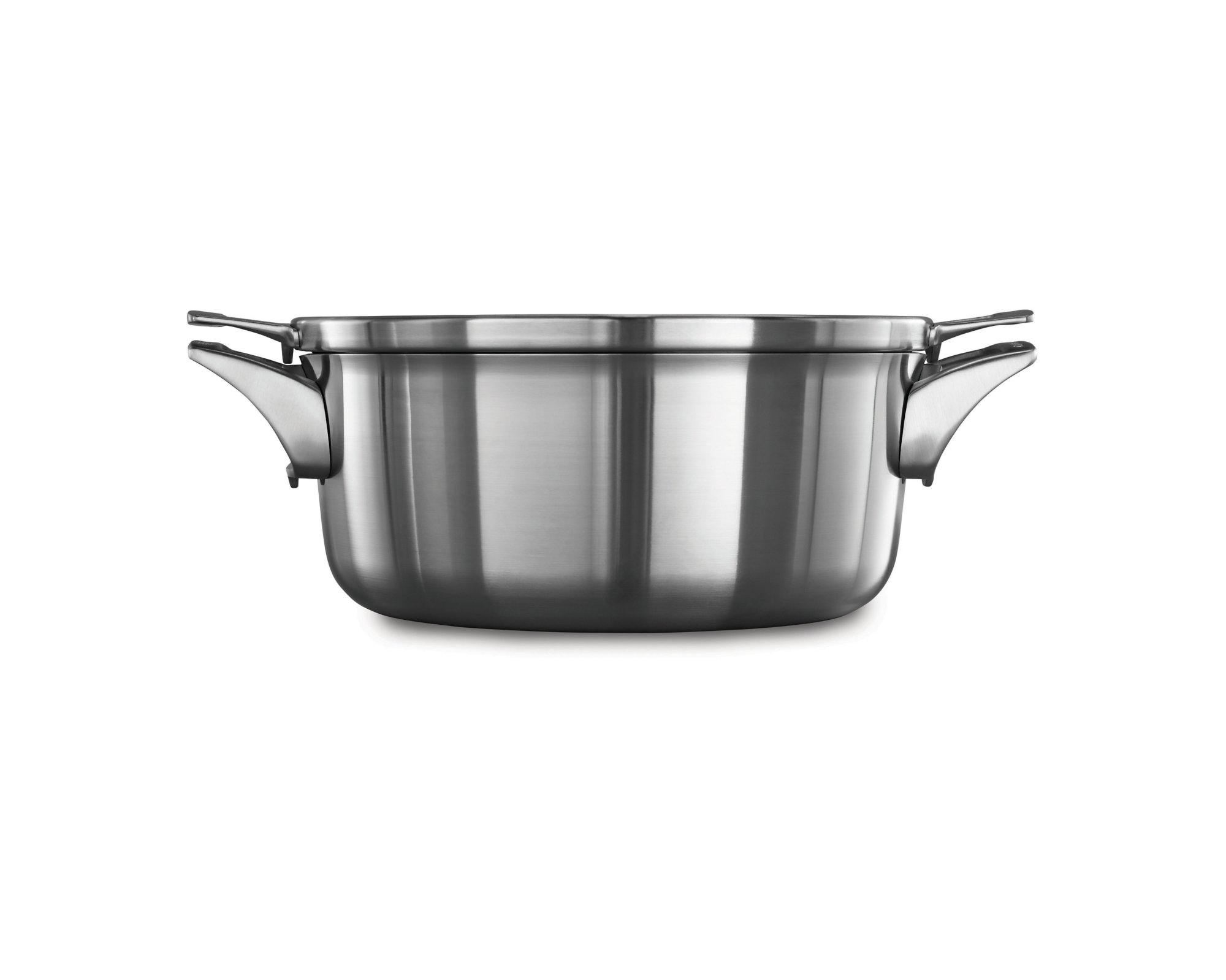 Calphalon Premier™ Space Saving Stainless Steel 5 qt. Dutch Oven with Cover