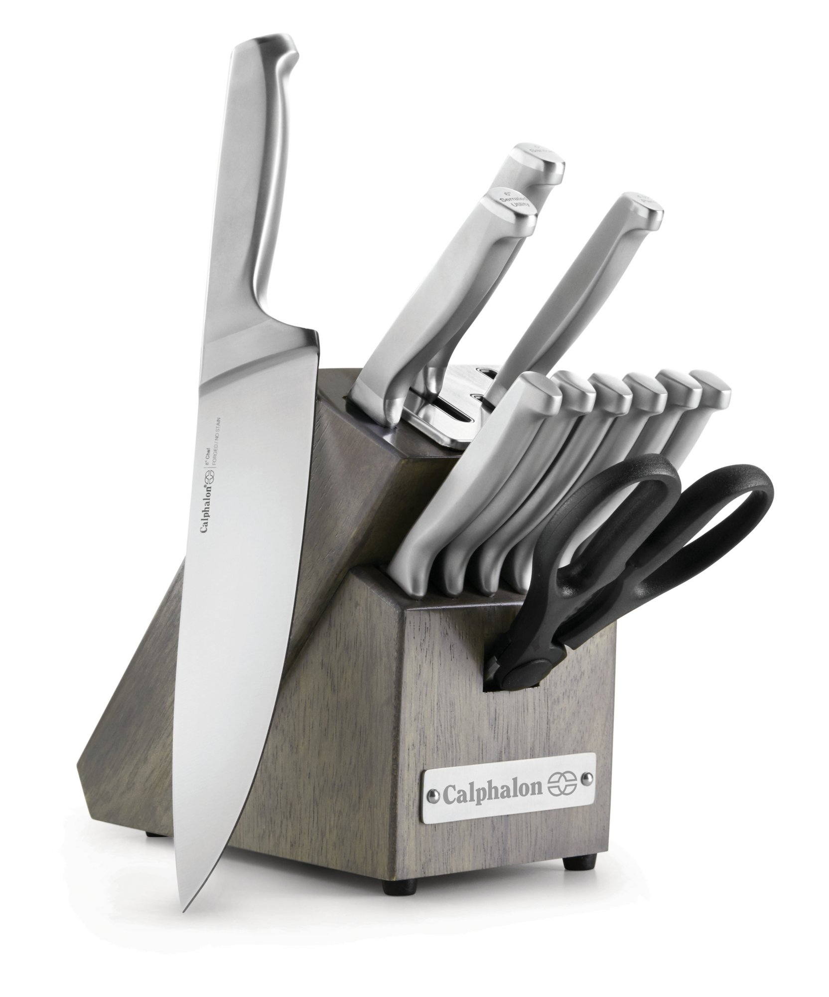 Calphalon Classic Self-Sharpening Stainless Steel 12-piece Knife Block Set