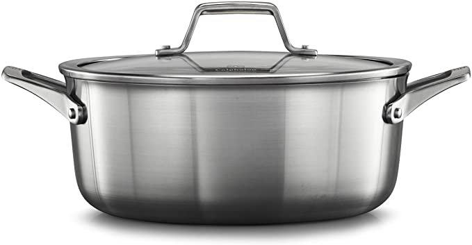Calphalon Premier Stainless Steel 5-Qt. Dutch Oven