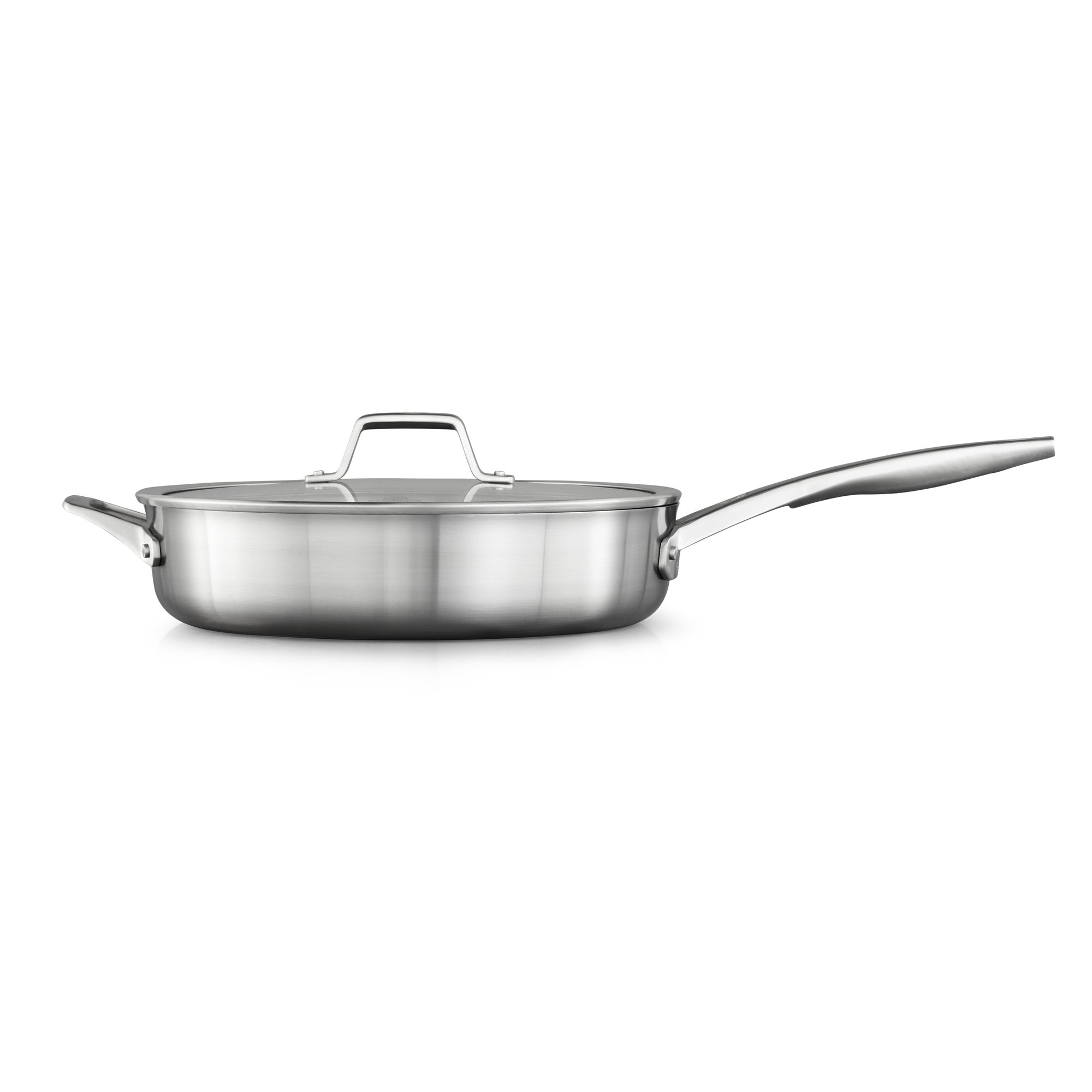 Calphalon Premier Stainless Steel 5-Quart Saute Pan with Cover