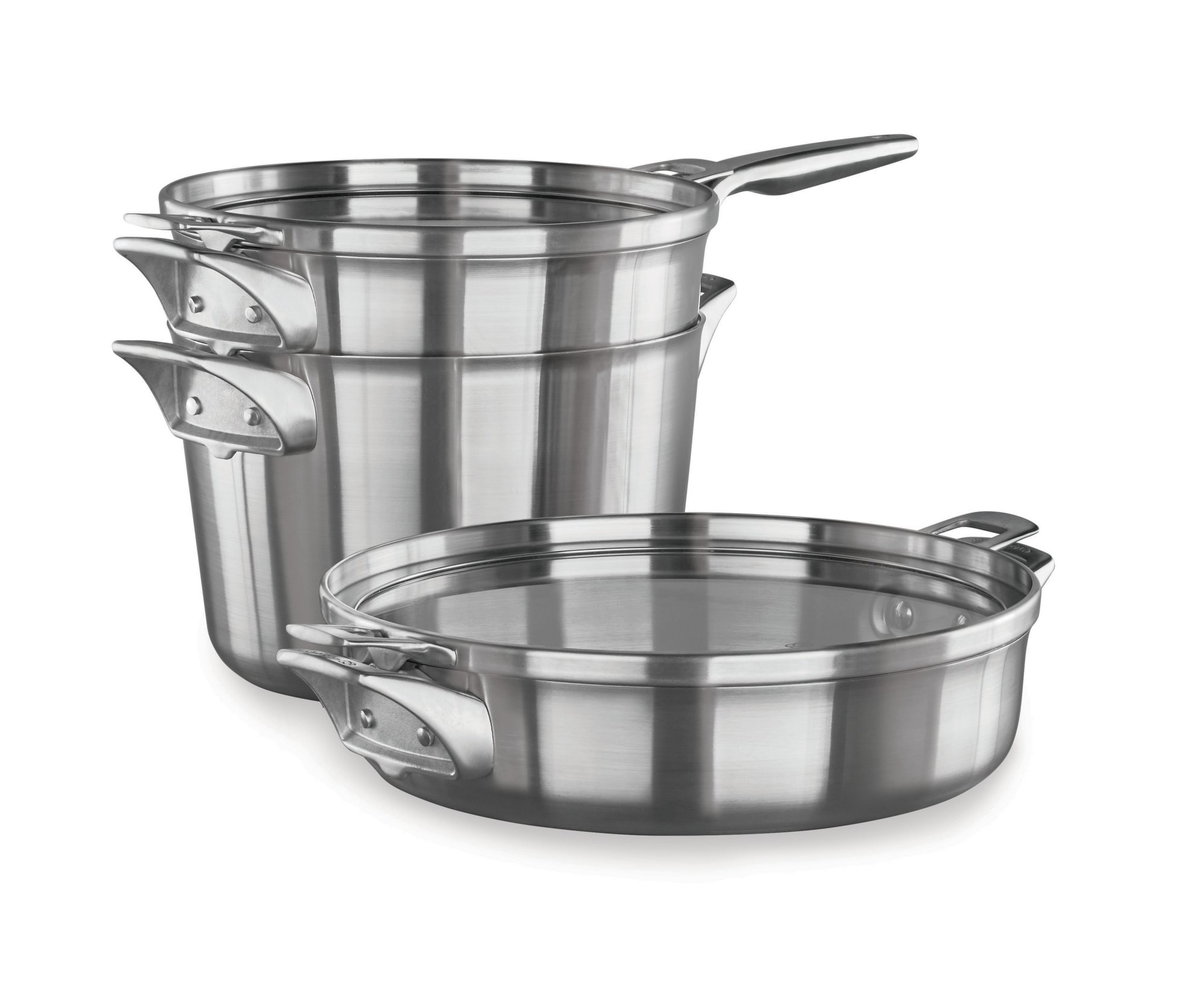 Calphalon Premier™ Space Saving Stainless Steel Supper Club Cookware Set