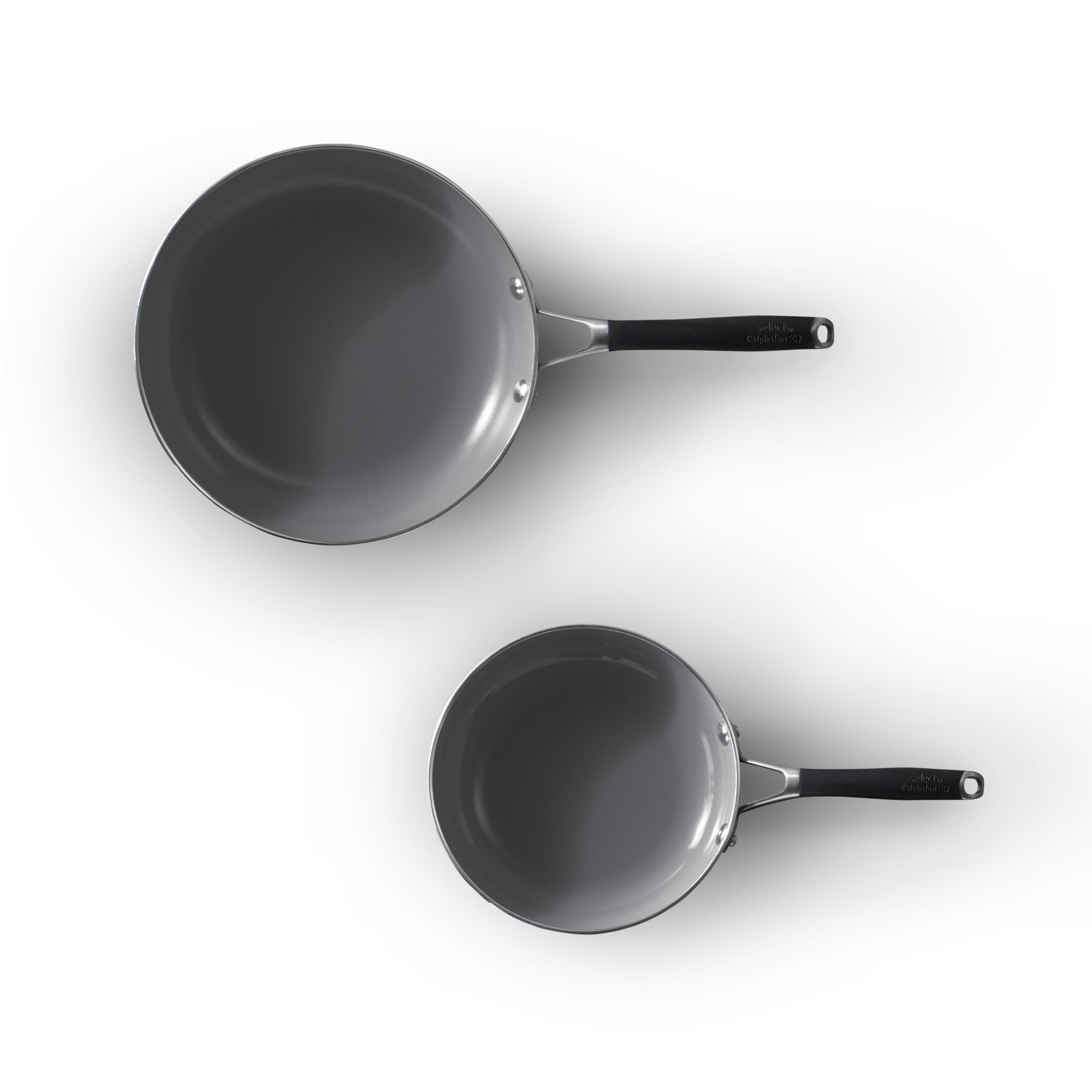 Select by Calphalon Oil Infused Ceramic 2-Piece Fry Pan Set
