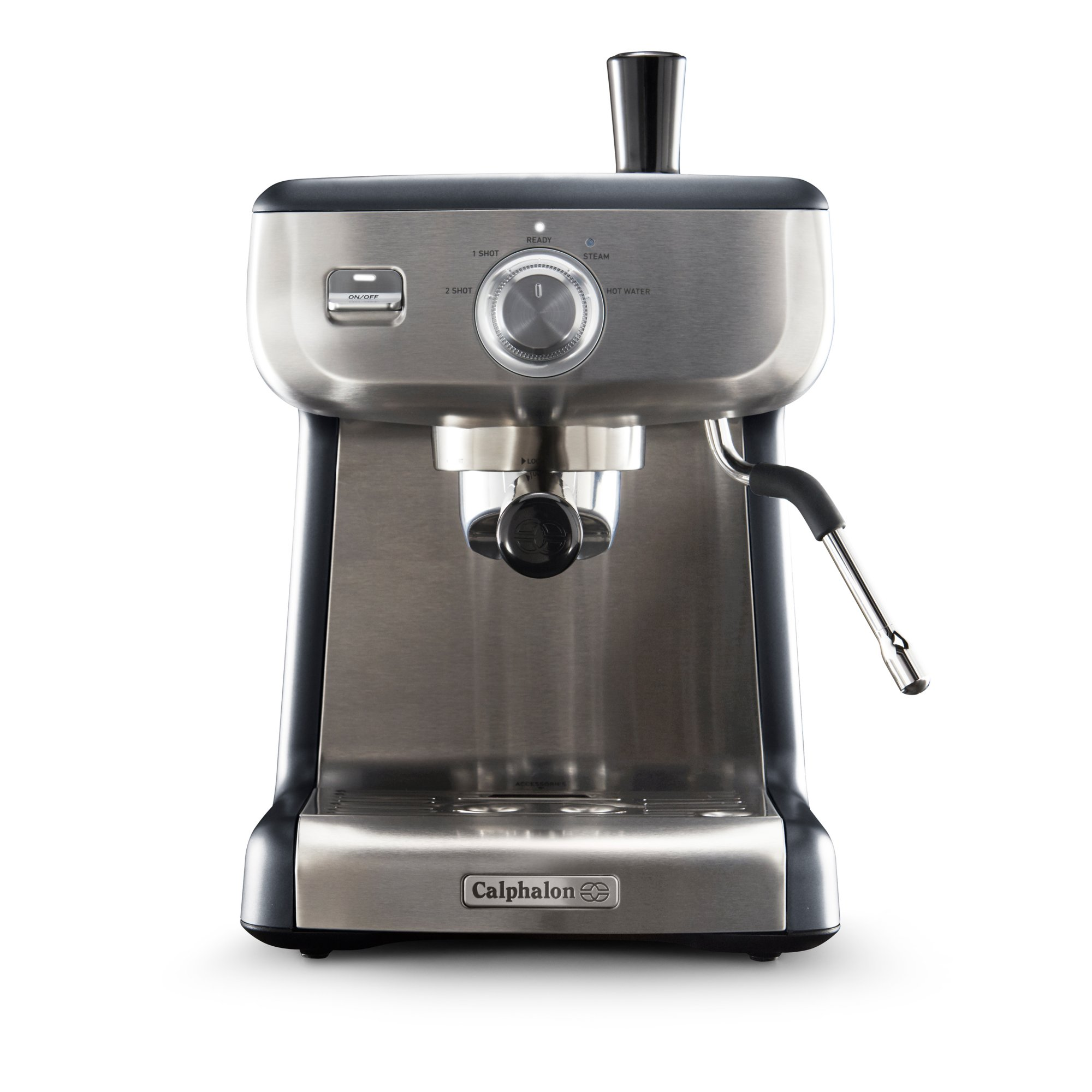Calphalon Temp iQ Espresso Machine with Steam Wand, Stainless