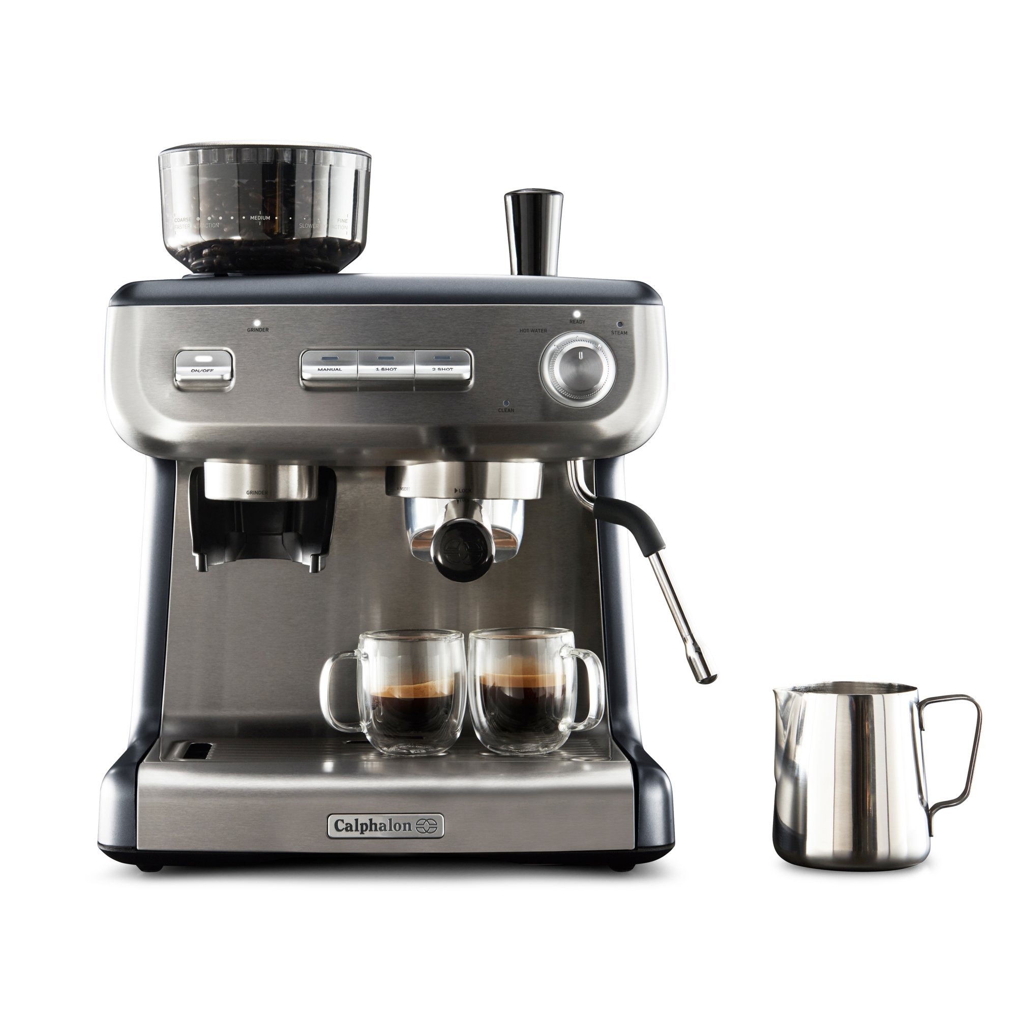 Temp iQ Espresso Machine with Grinder