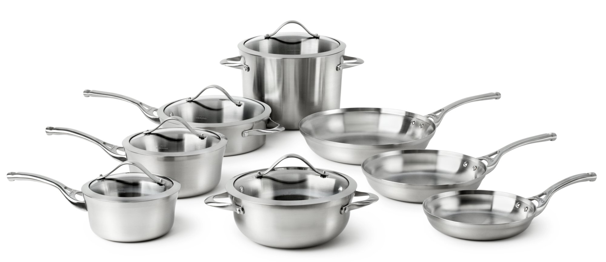Calphalon Contemporary Stainless 13-pc. Cookware Set