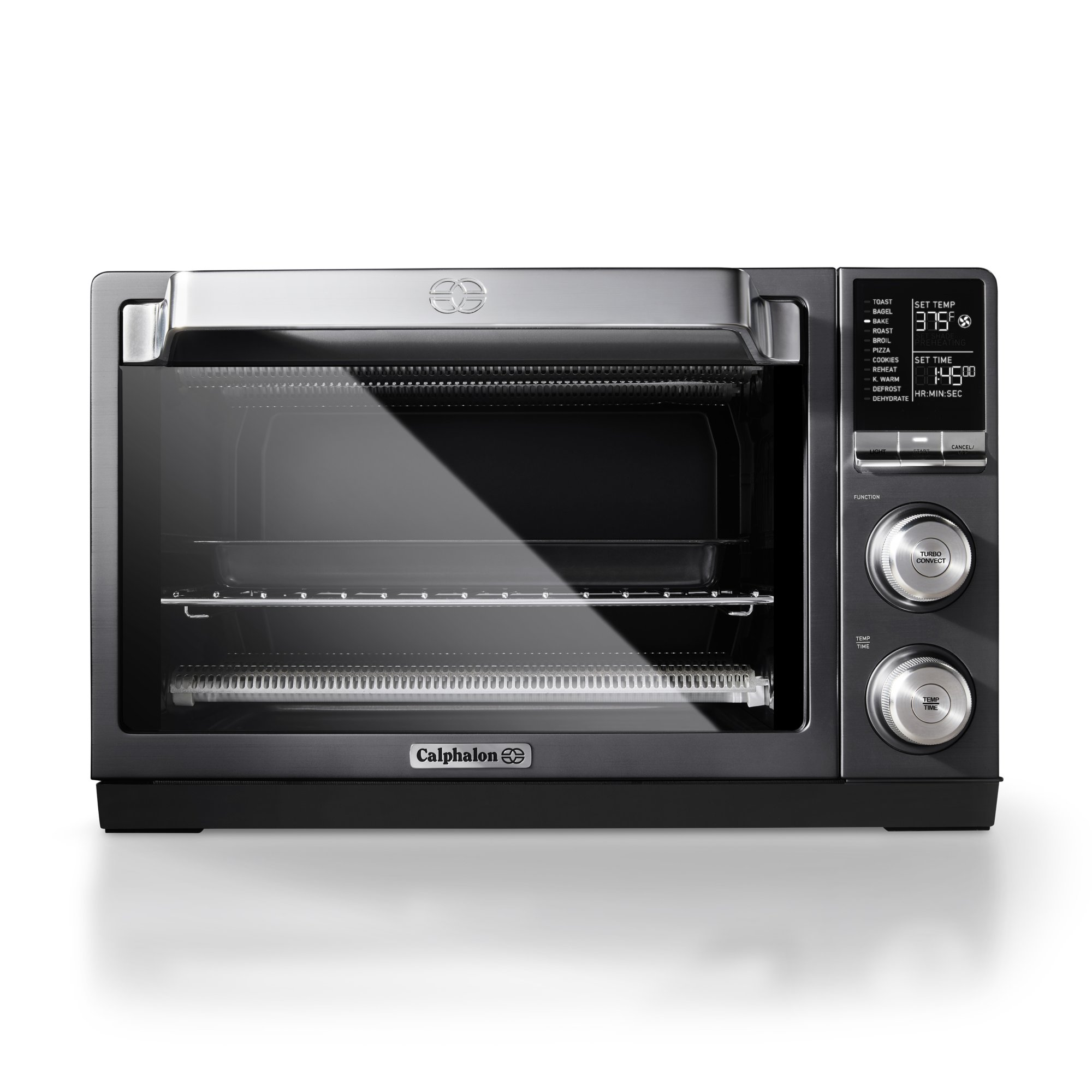 Calphalon Quartz Heat Countertop Oven, Dark Stainless Steel
