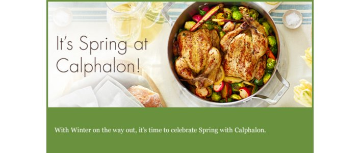 It's Spring at Calphalon!
