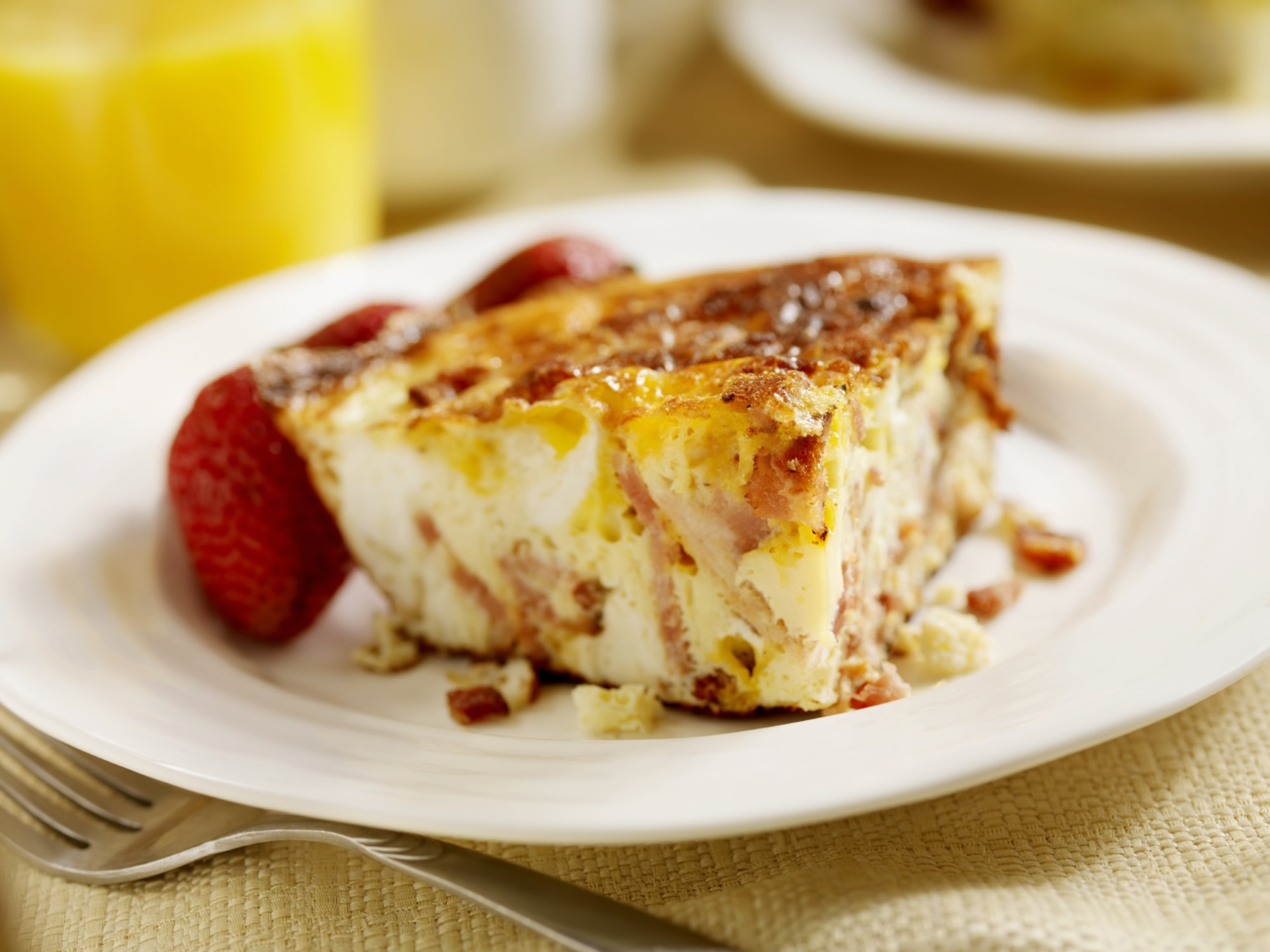 Asiago Breakfast Casserole